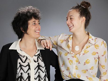 Myriam et Mathilde Retroaction Grenoble